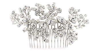 Garden Party Crystal Hair  Ornament