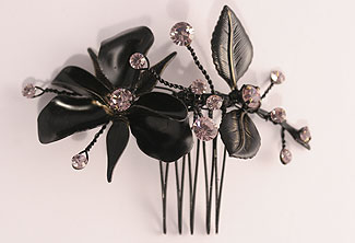 Black Beauty Hair Ornament