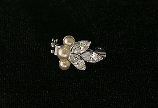 Crystal Lake Small Brooch