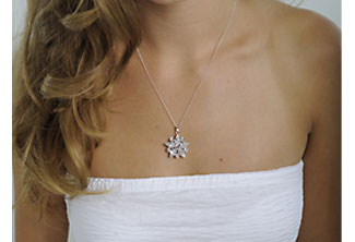 Anjou Bridal Pendant Necklace