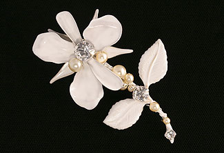 French Garden Brooch