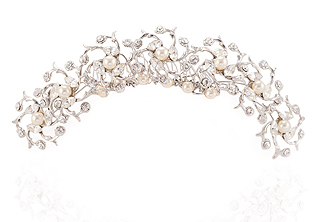 Evening Stars Bridal Comb