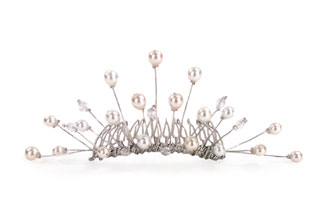 Pussy Willow Bridal Comb