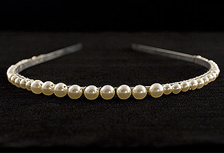 Simple Pearl Headband