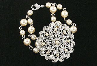 Queen Anne's Lace Bracelet