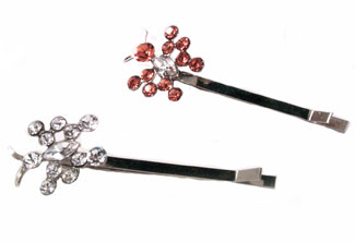 Crystal Butterfly Hairpin