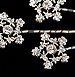 Wedding Hair Accessory - Bridal hair pin - Flowers - Jules Crystal bobby pin set of 4