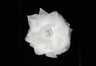 Loveliest Silk Hair Flower- Small