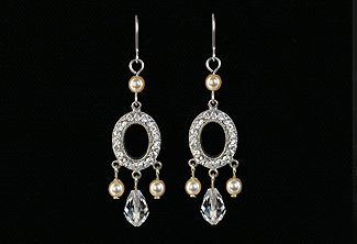 Vera Bridal Earrings
