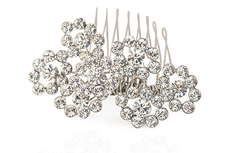 Rhinestone Bridal Comb - Hollywood Bridal Hair Ornament
