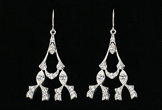 Nouveau Bridal Earrings