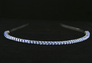 Simple Swarovski Headband