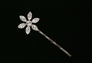 Daisy Bell Crystal Hairpin
