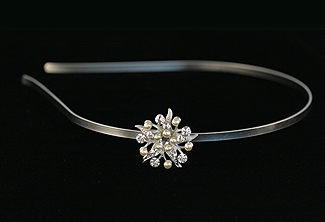Bridal Headband - Bridesmaid Gift - Rhinstone Headband - Wedding Accessory - Asterias Bridal Headband with Swarovski Crystal